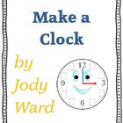 Time to Make a Clock Analogue & Digital Printable Worksheet