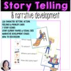 Time to Tell Stories: Story Element Cards for Narrative De