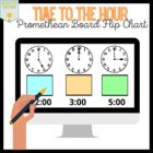 Time to the Hour Containers    { Promethean Board }