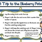 Time to the Nearest Five Minutes Game: Blueberry Patch