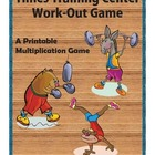 Times Training Center Multiplication Facts Workout Game