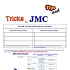 Tips and Using JMC Gradebook program