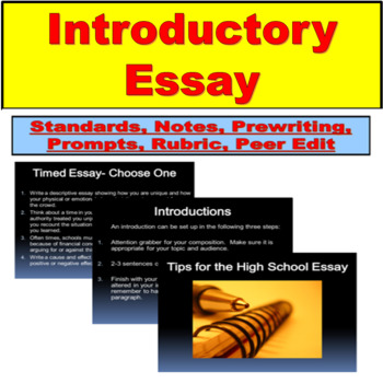 Tips for the High School Essay