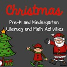 Tis the Season: Pre-K and K Literacy and Math Activities