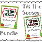 Tis the Season for Literacy and Math Centers BUNDLE