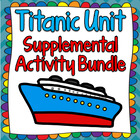 Titanic Unit & Lesson Plan Activities