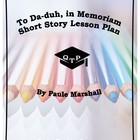 To Da-duh in Memoriam Paule Marshall Lesson Bundle with Lectures