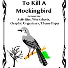 To Kill A Mockingbird Activities, Worksheets, Quizzes