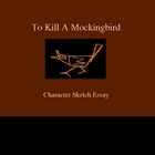 To Kill A Mockingbird Character Sketch Essay