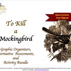 To Kill A Mockingbird~ Graphic Organizers