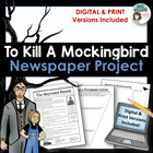 &quot;To Kill A Mockingbird&quot; Newspaper Final Project