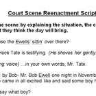 To Kill A Mockingbird Trial Scene Reenactment