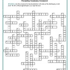 To Kill a Mockingbird: 50-word Prereading Vocab Xword: Use