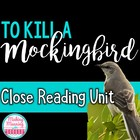To Kill a Mockingbird CLOSE READING PASSAGES