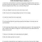 To Kill a Mockingbird Chapter 2 study guide questions and KEY