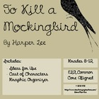 To Kill a Mockingbird Characters Graphic Organizer
