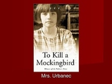 To Kill a Mockingbird Introduction Powerpoint and Notes