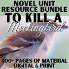 To Kill a Mockingbird Literature Guide: CCS Aligned Teachi