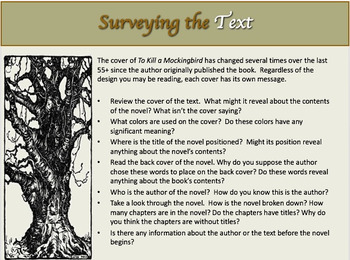 To Kill a Mockingbird~ New Navigation index and graphic or