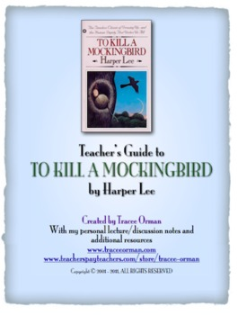 To Kill a Mockingbird Teacher's Guide
