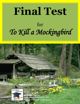 To Kill a Mockingbird Whole Book Test