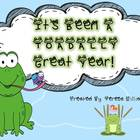 Toadally Great Year-End of the Year Craftivity