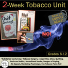 Tobacco Unit: Creative Way to Teach this Subject-92 PPt Sl