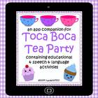 Toca Boca Tea Party: app companion for literacy & language