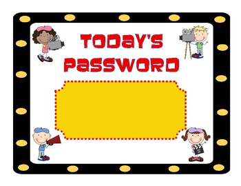 Today's Password Hollywood Movie Popcorn Theme