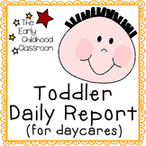 Toddler Daily Report