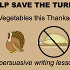Tom the Turkey Persuasive Writing SMARTboard Lesson