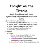 Tonight on the Titanic books unit