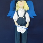 Tooth Dude (Fairy) - Blue Outfit with Blond Hair
