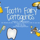 Tooth Fairy Categories Activities