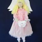 Tooth Fairy Doll - Pink Dress
