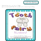 Tooth Fairy Numbers! - Pre-kinder - Kindergarten - File Fo