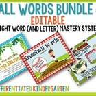 Top Bananas, Baseball and Soccer Ball Word Bundle-Mastery System