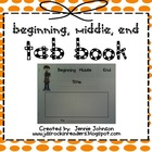 Top Tab Book Beginning, Middle, End FREEBIE