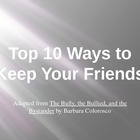 Top Ten Ways to Keep Your Friends PowerPoint