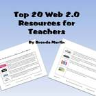 Top Twenty Web 2.0 Resources and Lesson Ideas