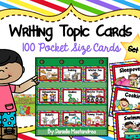Topics to Write About- 100 Pocket Sized Cards