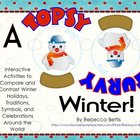 Topsy Turvy Winter-Activities to Compare and Contrast Wint