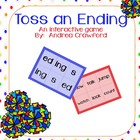 Toss an Ending (-ed, -s, -ing) Suffixes