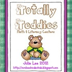 Totally Teddies Math and Literacy Centers