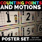 Touch Point Math: Number Counting Motions