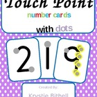 Touch Point Number Cards with Dots 1-9