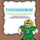 Touchdown! Word Work Game (R-controlled Vowels)