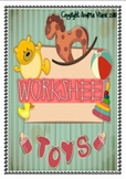 Toys worksheet