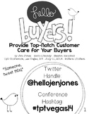 TpT Conference 2014 Session Handout: Hello Buyers! present