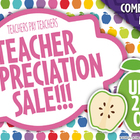 TpT Teacher Appreciation Sale Blog Icon Graphic Clipart  FREE!